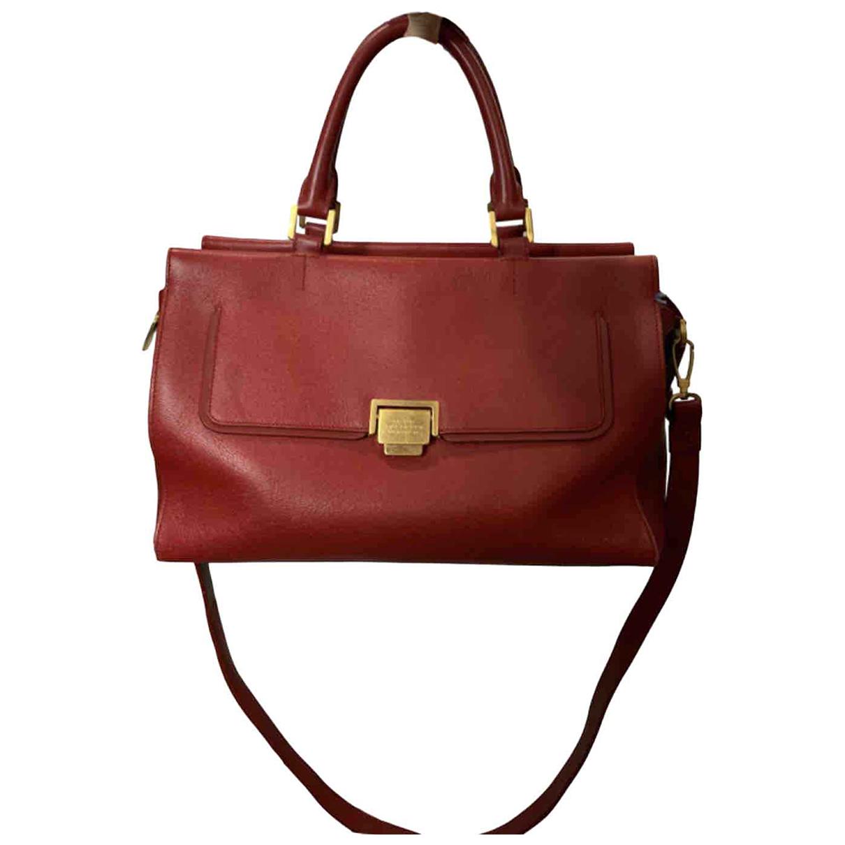 Smythson \N Handtasche in  Rot Leder