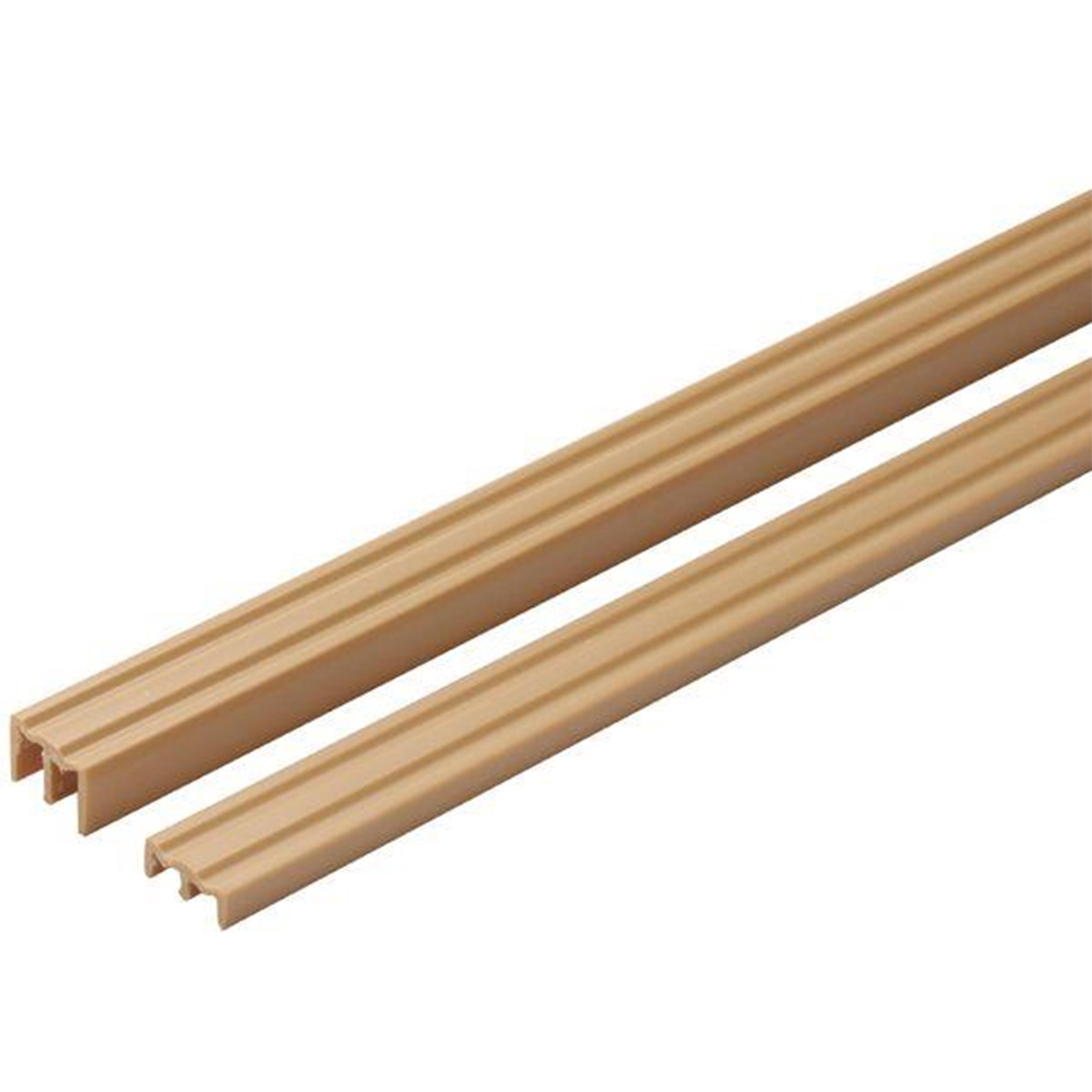 Knape and Vogt Wood Door Track for 1/4