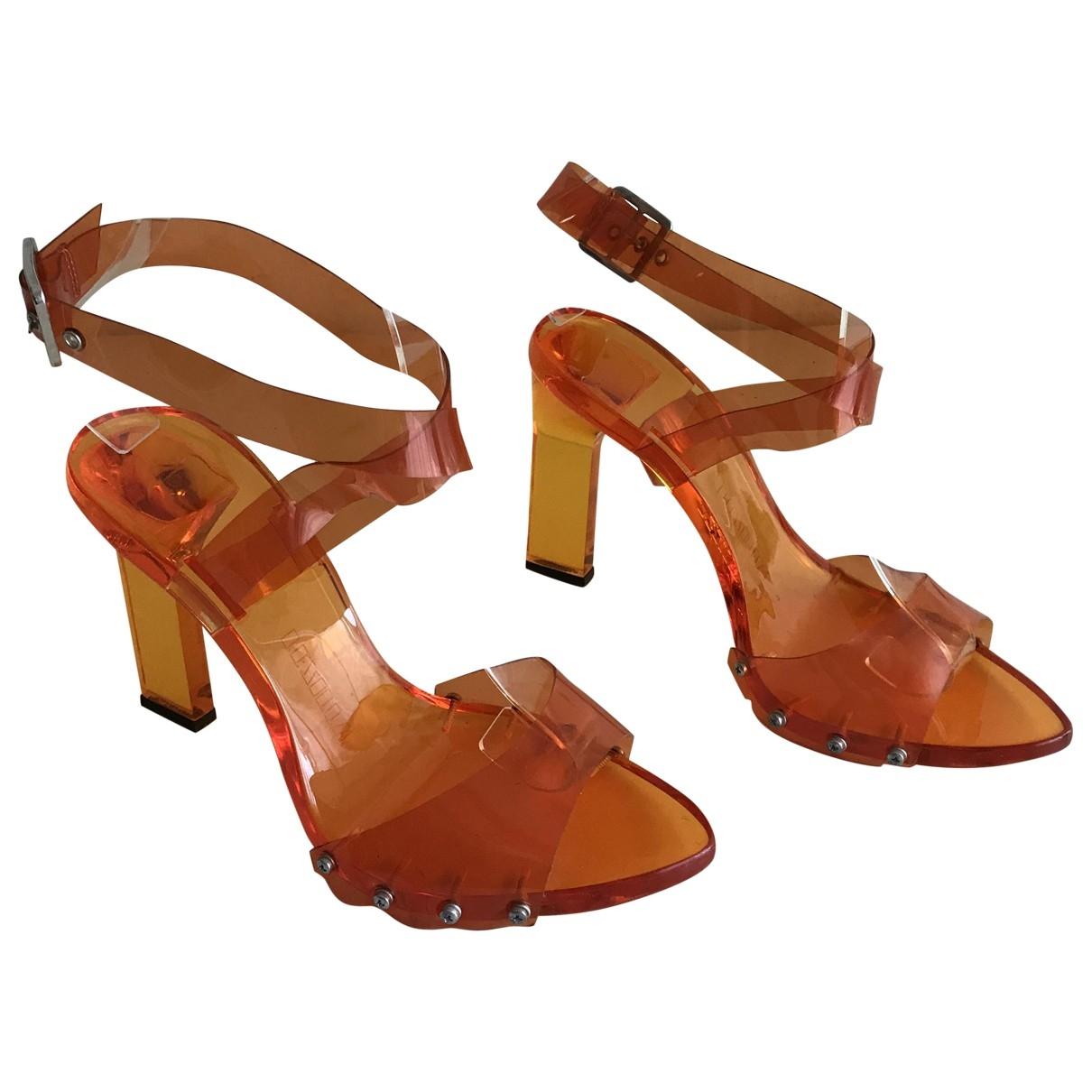 Le Silla \N Orange Sandals for Women 37 EU