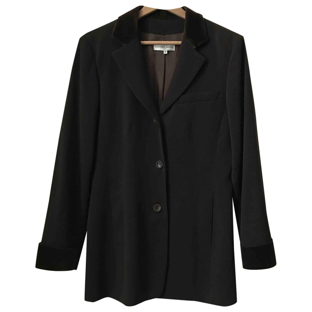 Gerard Darel \N Brown Velvet jacket for Women 38 FR