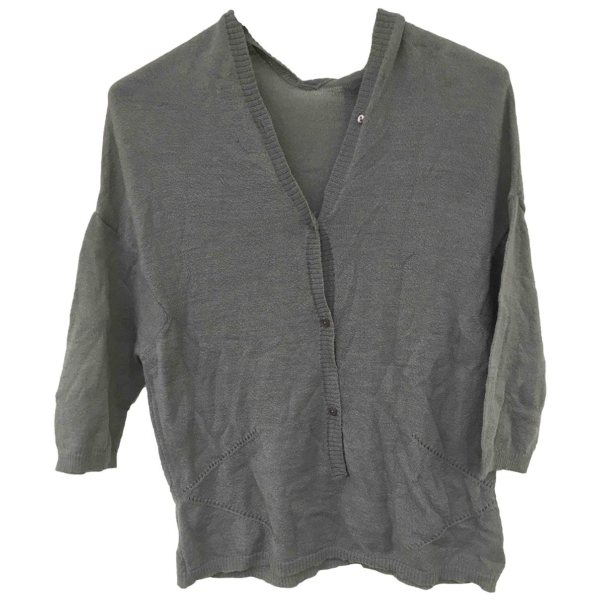 Gianfranco Ferre - Pull   pour femme en laine - gris