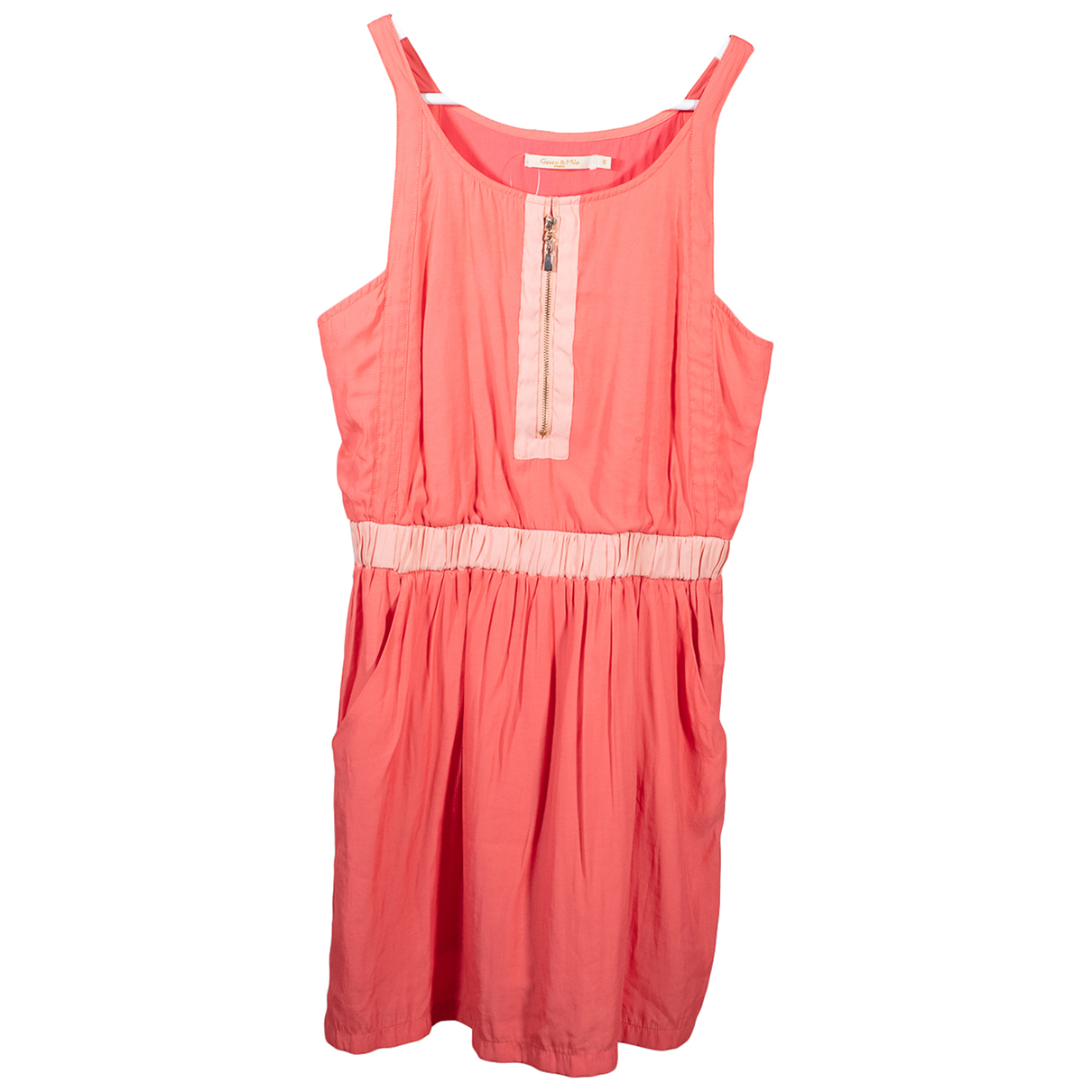 Non Signé / Unsigned \N Pink dress for Women 36 FR