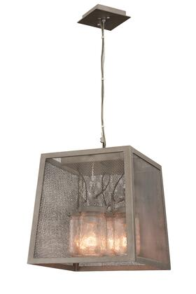 Highland 500051CI 4-Light Pendant in Country