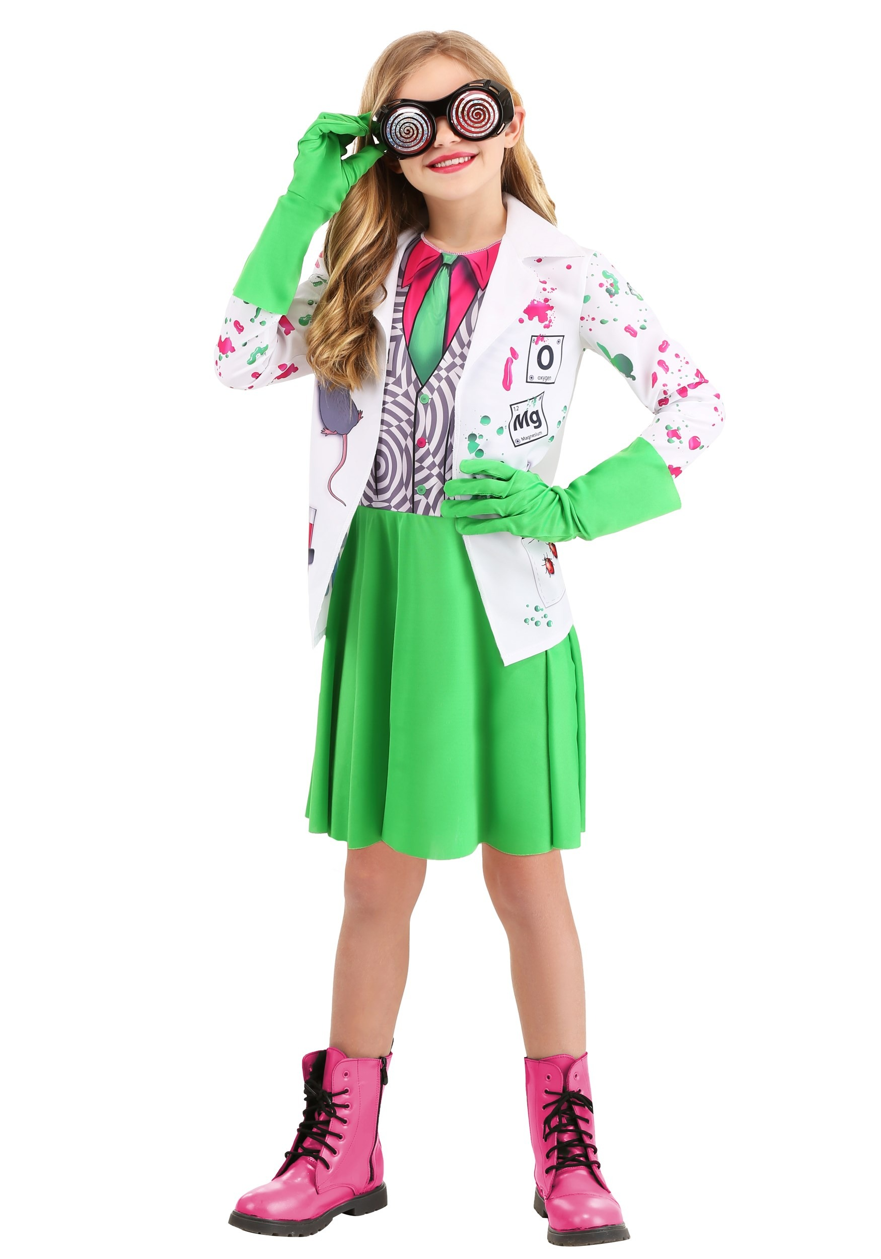 Mad Scientist Costume for Kid's