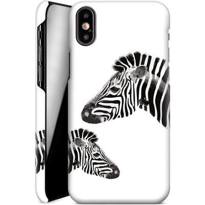 Apple iPhone XS Smartphone Huelle - Zebra Pride von Mukta Lata Barua