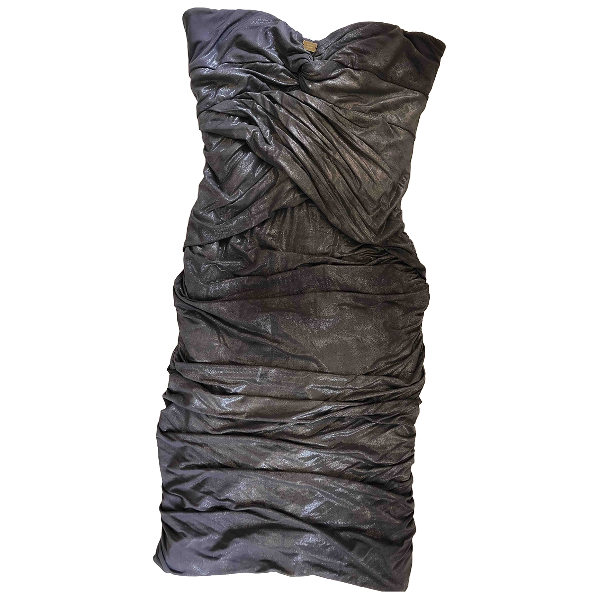 Elisabetta Franchi - Robe   pour femme - metallise