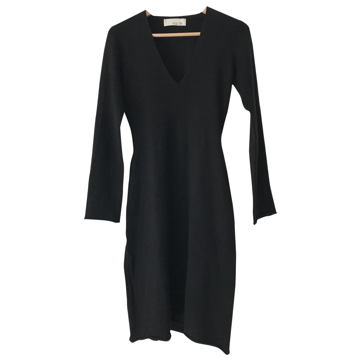 Allude N Black Cashmere dress for Women M International
