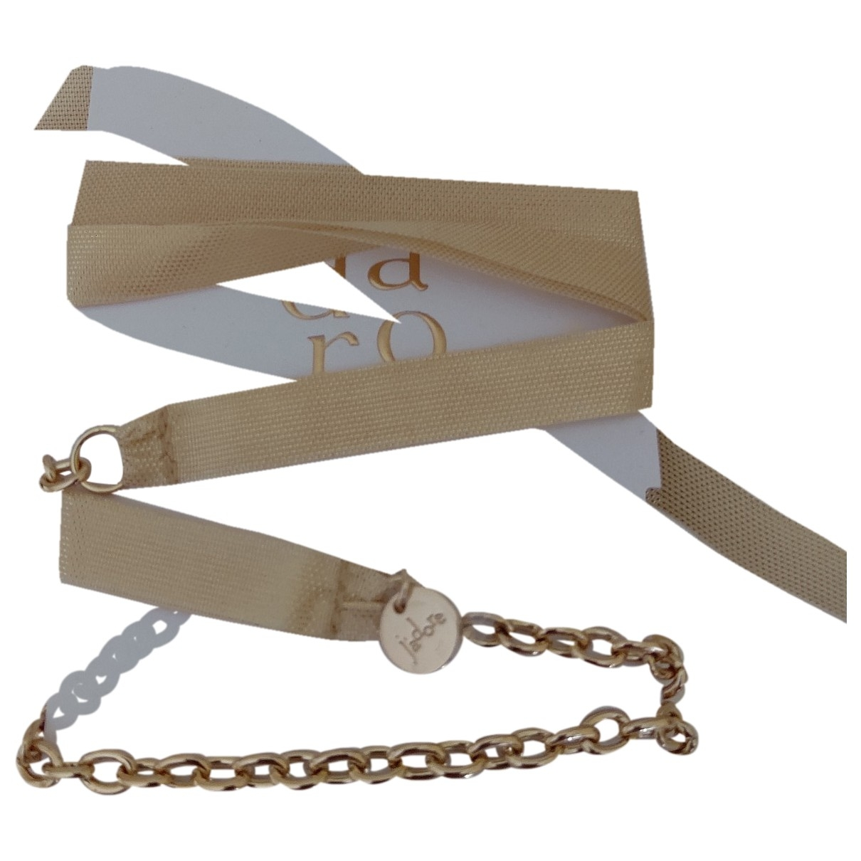 Dior \N Armband in  Gelb Metall