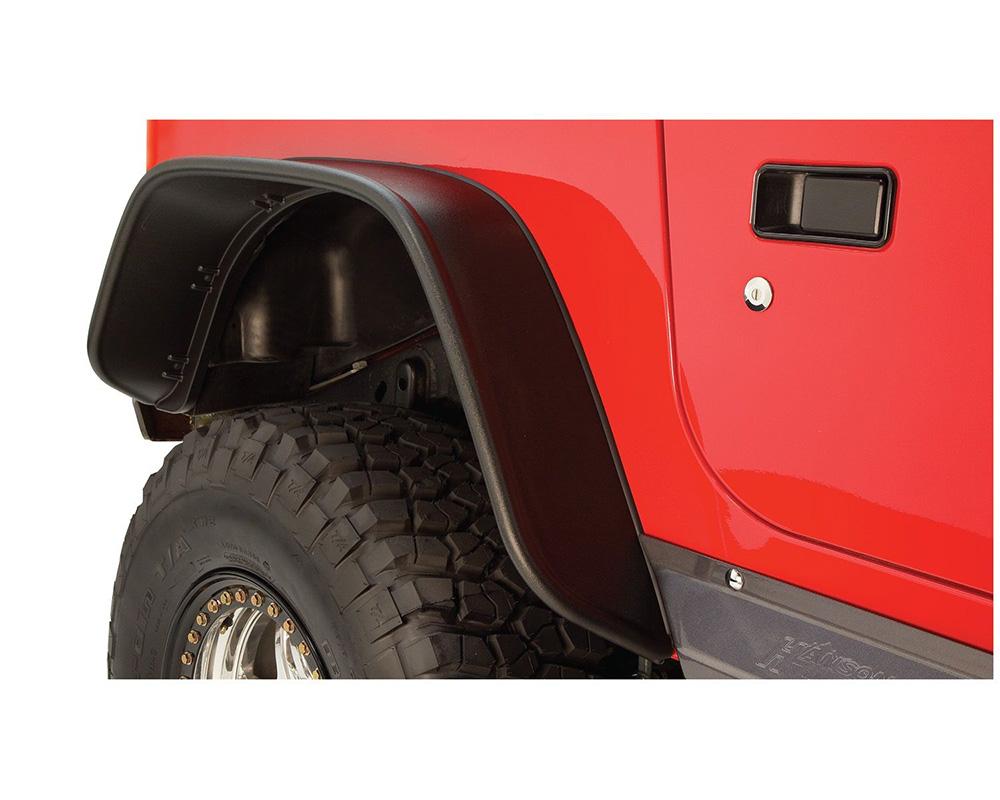 BUSHWACKER - FF JEEP FLAT STYLE 2PC Jeep Wrangler Rear 1997-2006