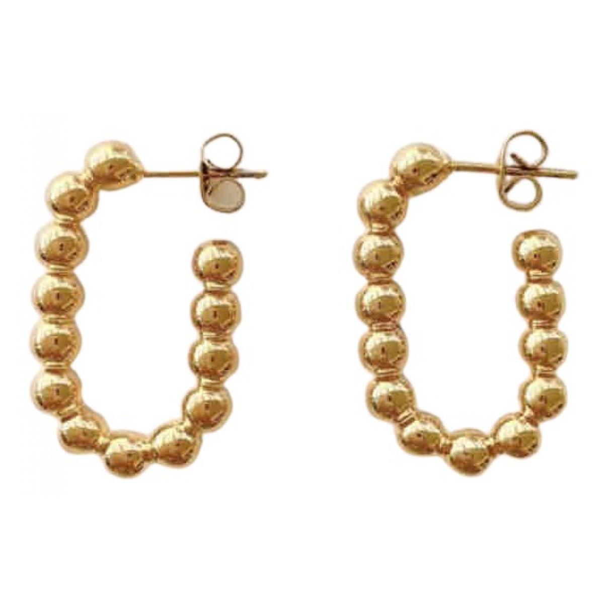 Monica Vinader \N OhrRing in  Gold Vergoldet
