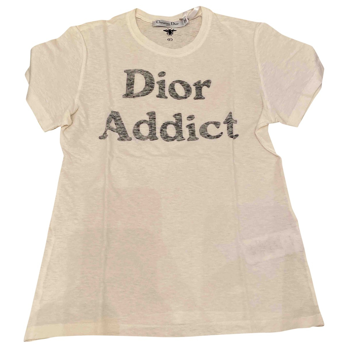 Christian Dior \N White Cotton  top for Women XS International