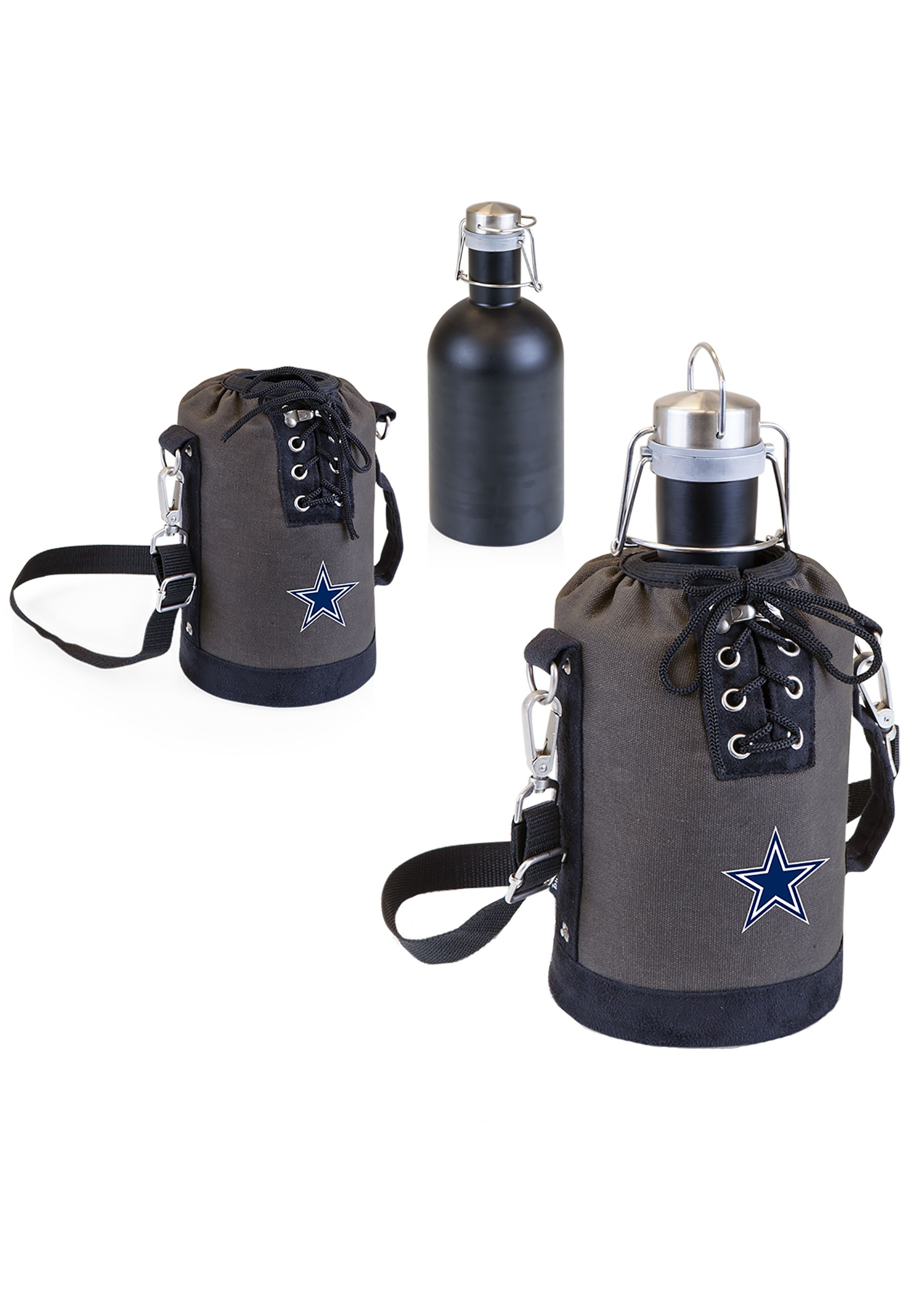 Dallas Cowboys Growler NFL Tote w/ Stainless Steel Growler