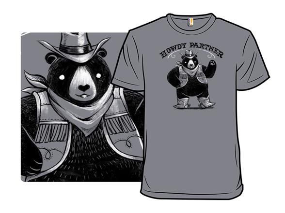 Howdy Partner T Shirt