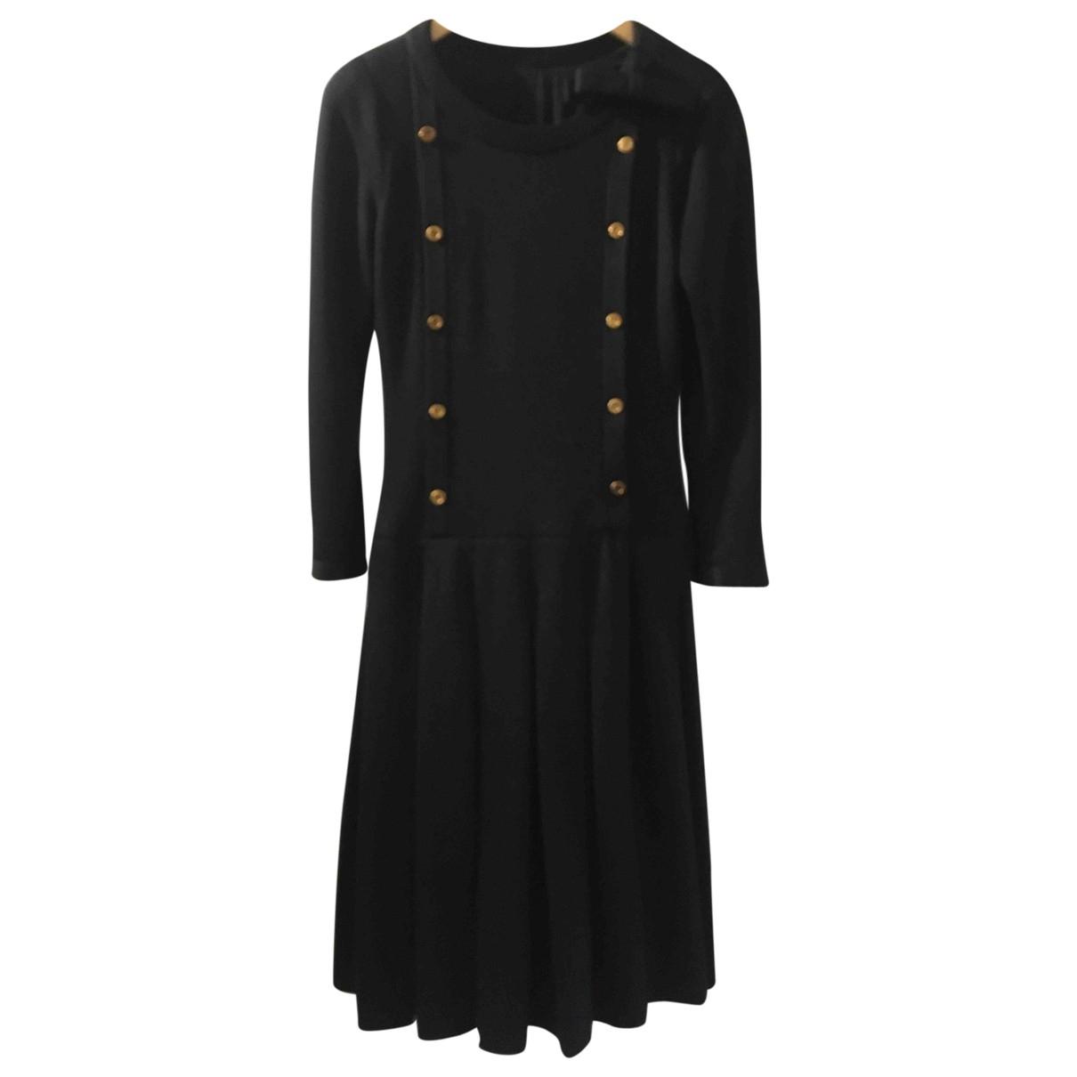 Chanel \N Black Wool dress for Women 36 FR