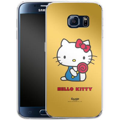 Samsung Galaxy S6 Silikon Handyhuelle - Hello Kitty Lollipop von Hello Kitty