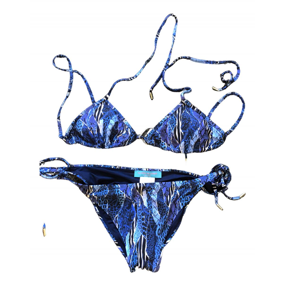 Matthew Williamson - Bain   pour femme en lycra - bleu