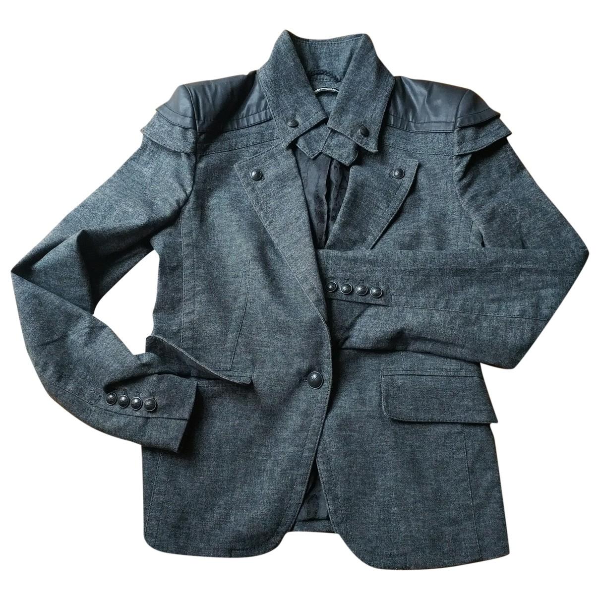 Drykorn - Veste   pour femme en coton - gris