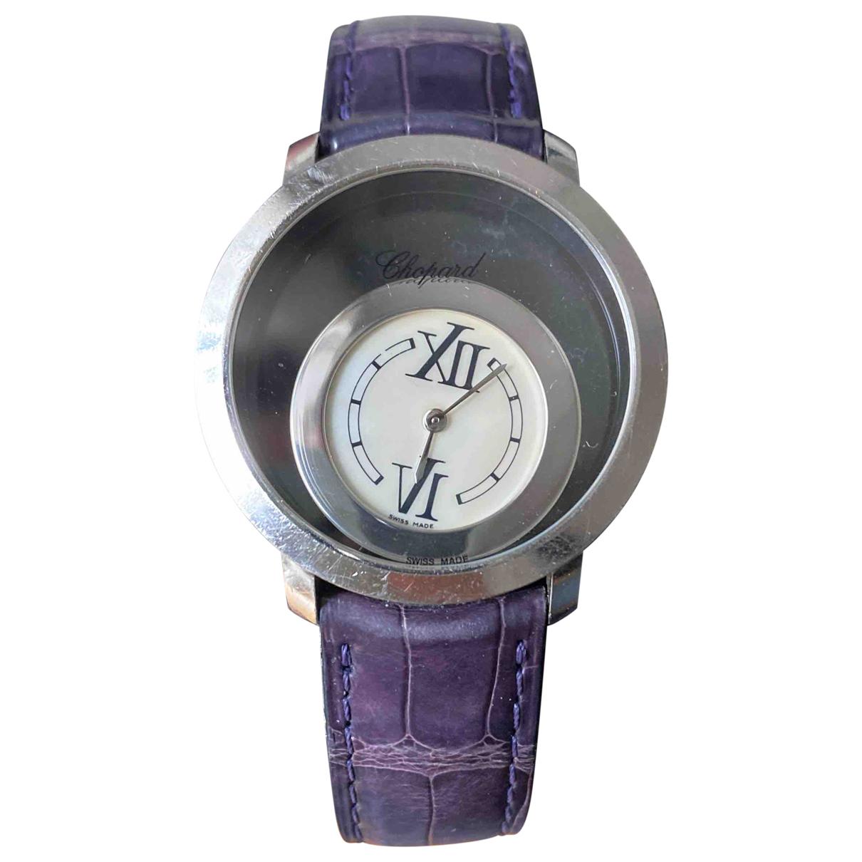 Chopard Happy Diamonds Uhr in  Metallic Weissgold