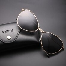 Gafas de sol de hombres de marco metalico