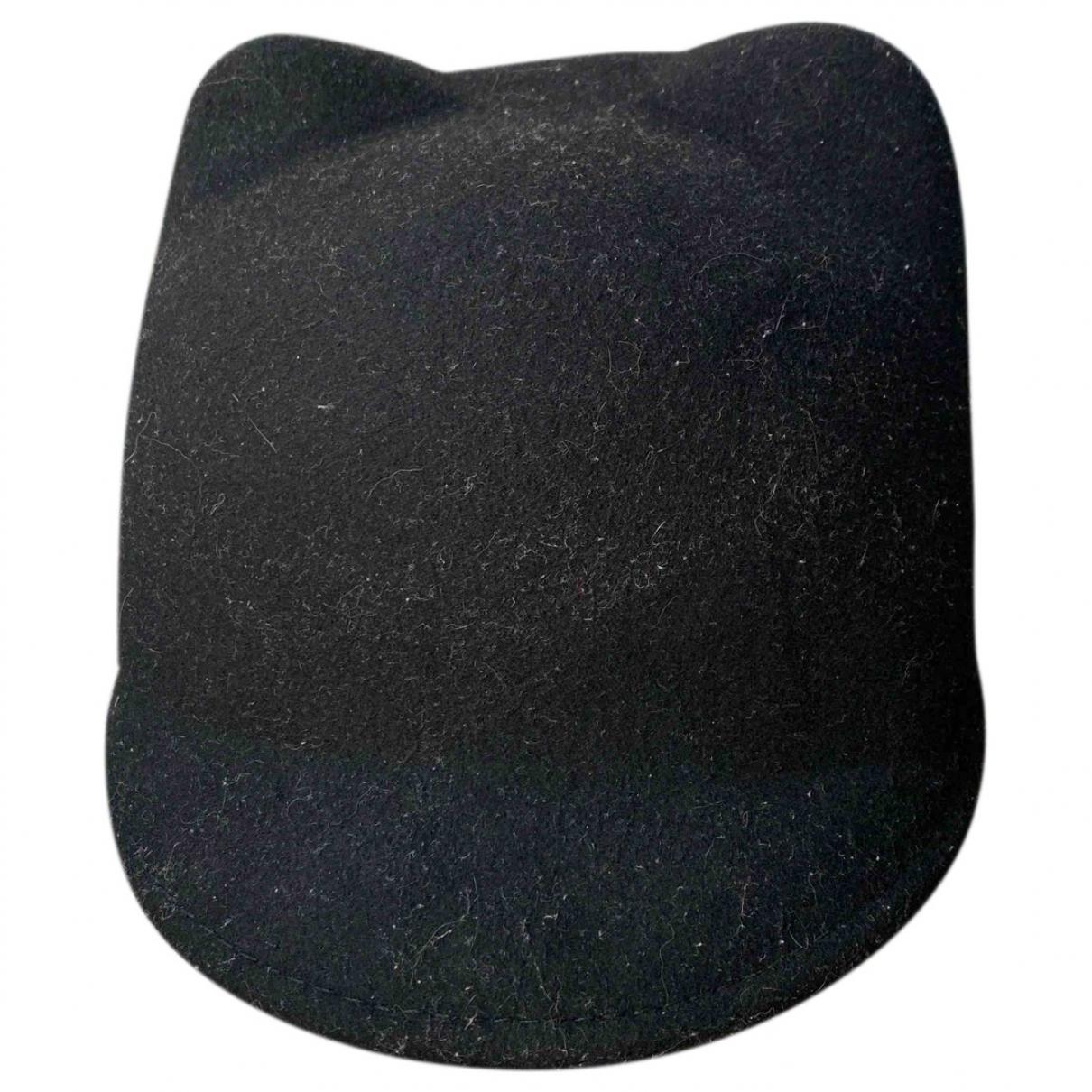 Maison Scotch \N Black Wool hat for Women M International