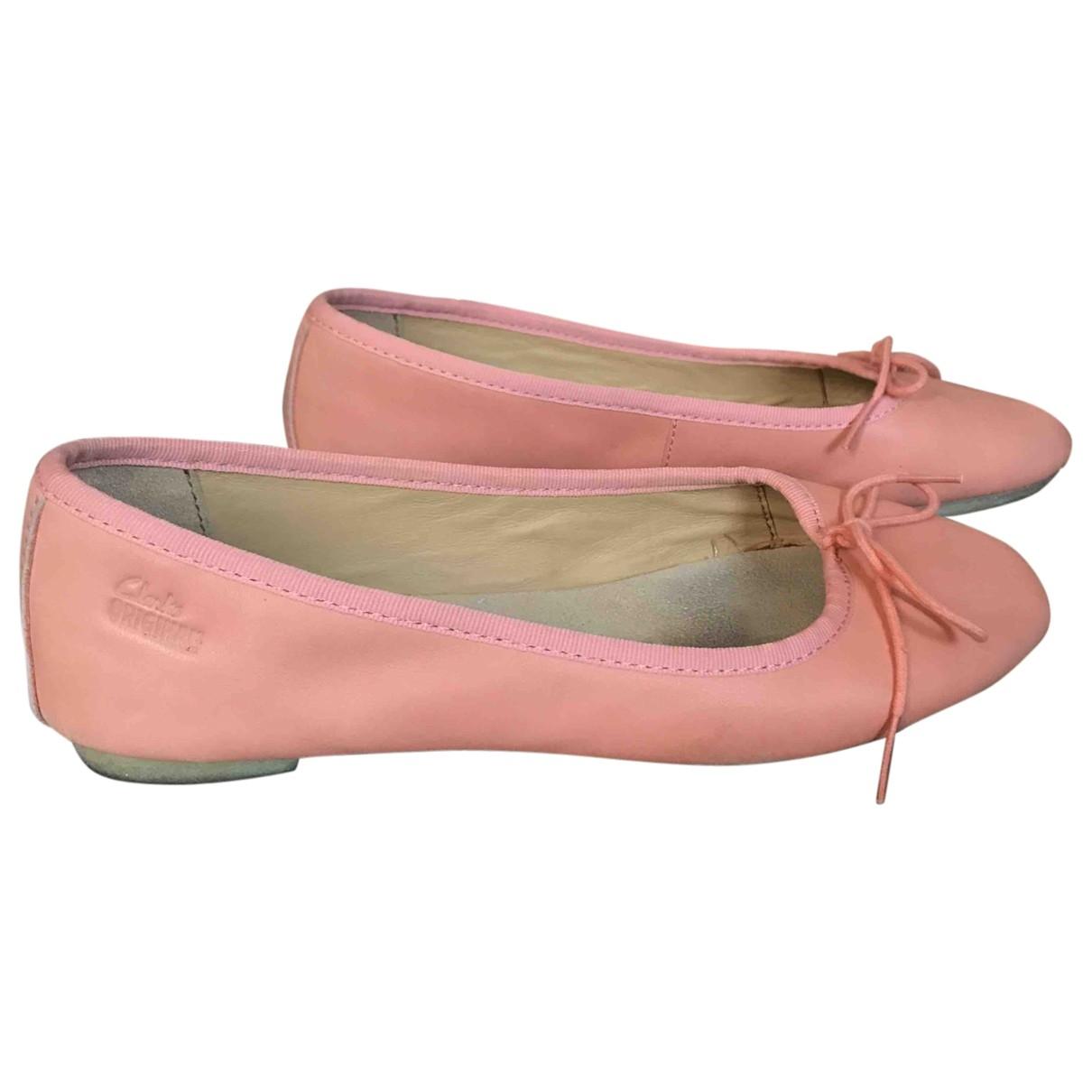 Bailarinas de Cuero Clarks