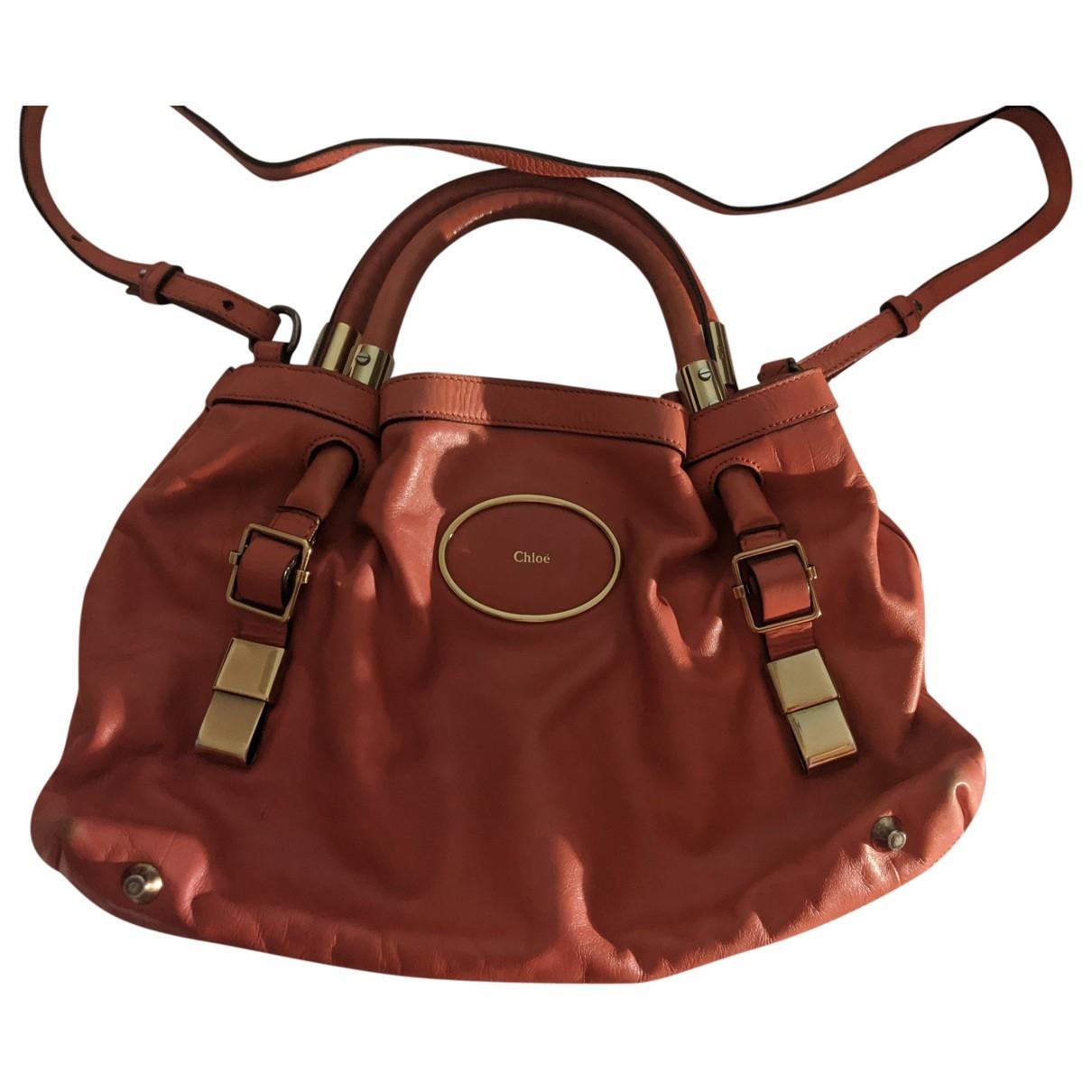 Chloé Ethel Red Leather handbag for Women \N