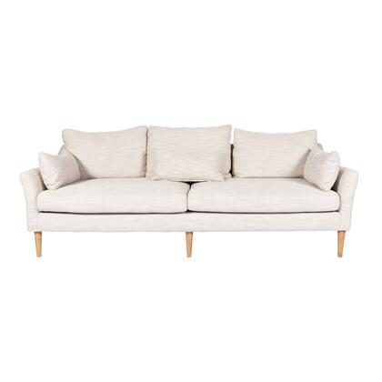 Calista Collection FN-1034-34 Sofa with Solid Wood Frame in Gray