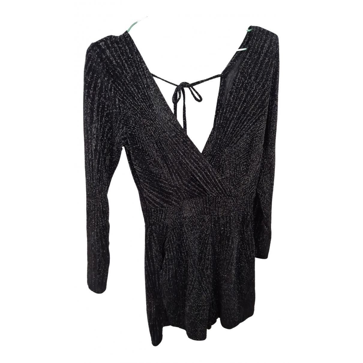 - Combinaison   pour femme en coton - noir