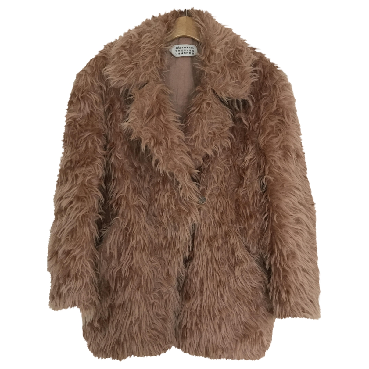 Maison Martin Margiela \N Pink Wool coat for Women 38 FR
