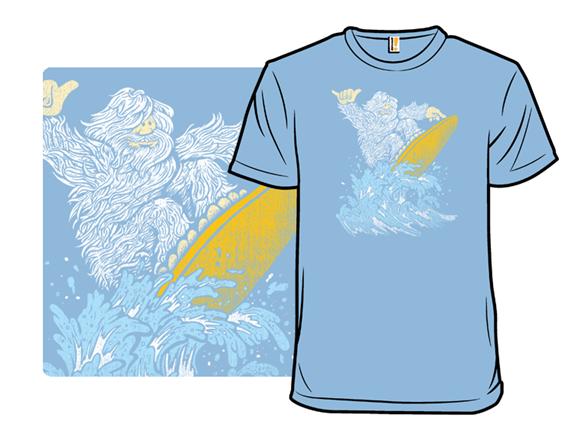 Surfin' Yeti T Shirt