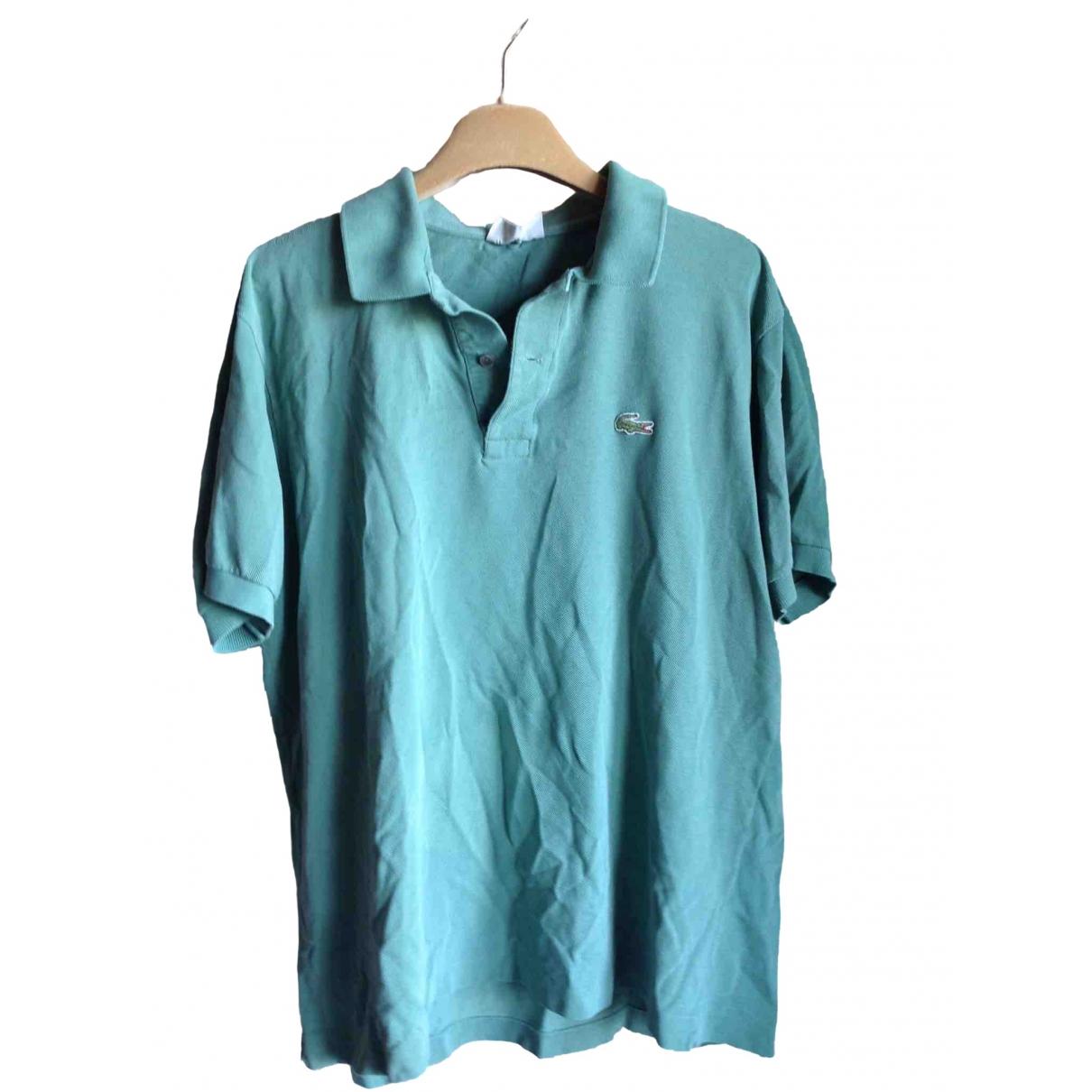Lacoste \N Poloshirts in  Gruen Baumwolle