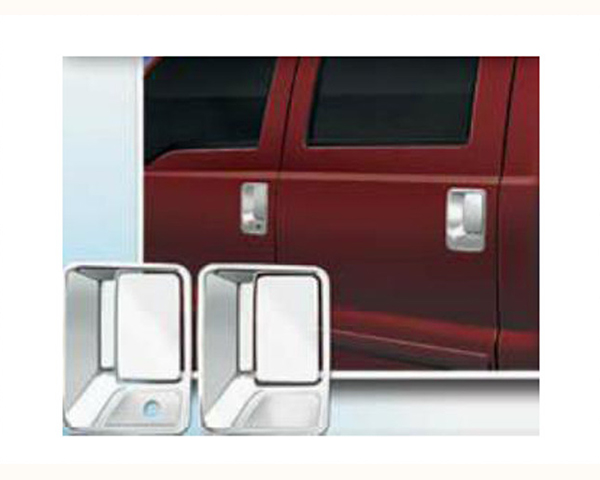 Quality Automotive Accessories ABS Chrome Door Handle Cover Kit Ford Excursion 2005
