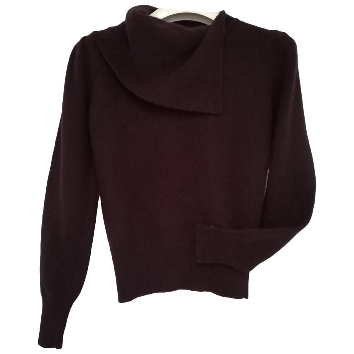 Pierre Cardin - Pull   pour femme en laine - violet