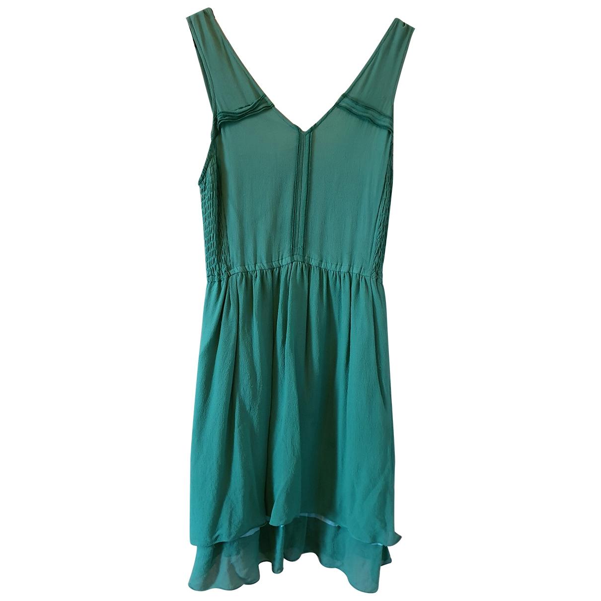 Marc By Marc Jacobs - Robe   pour femme en soie - vert