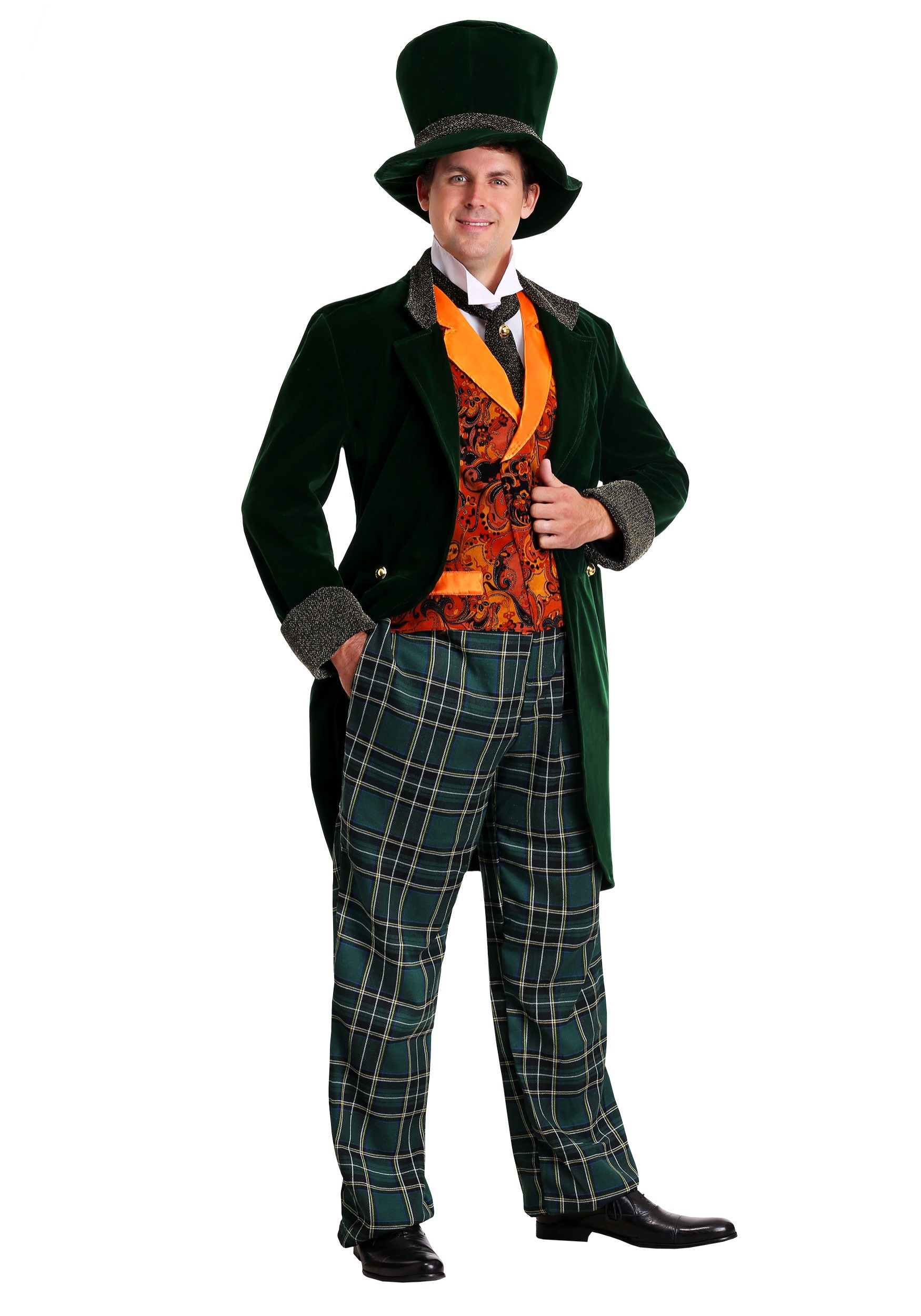 Deluxe Plus Size Mad Hatter Costume | Exclusive | Made By Us