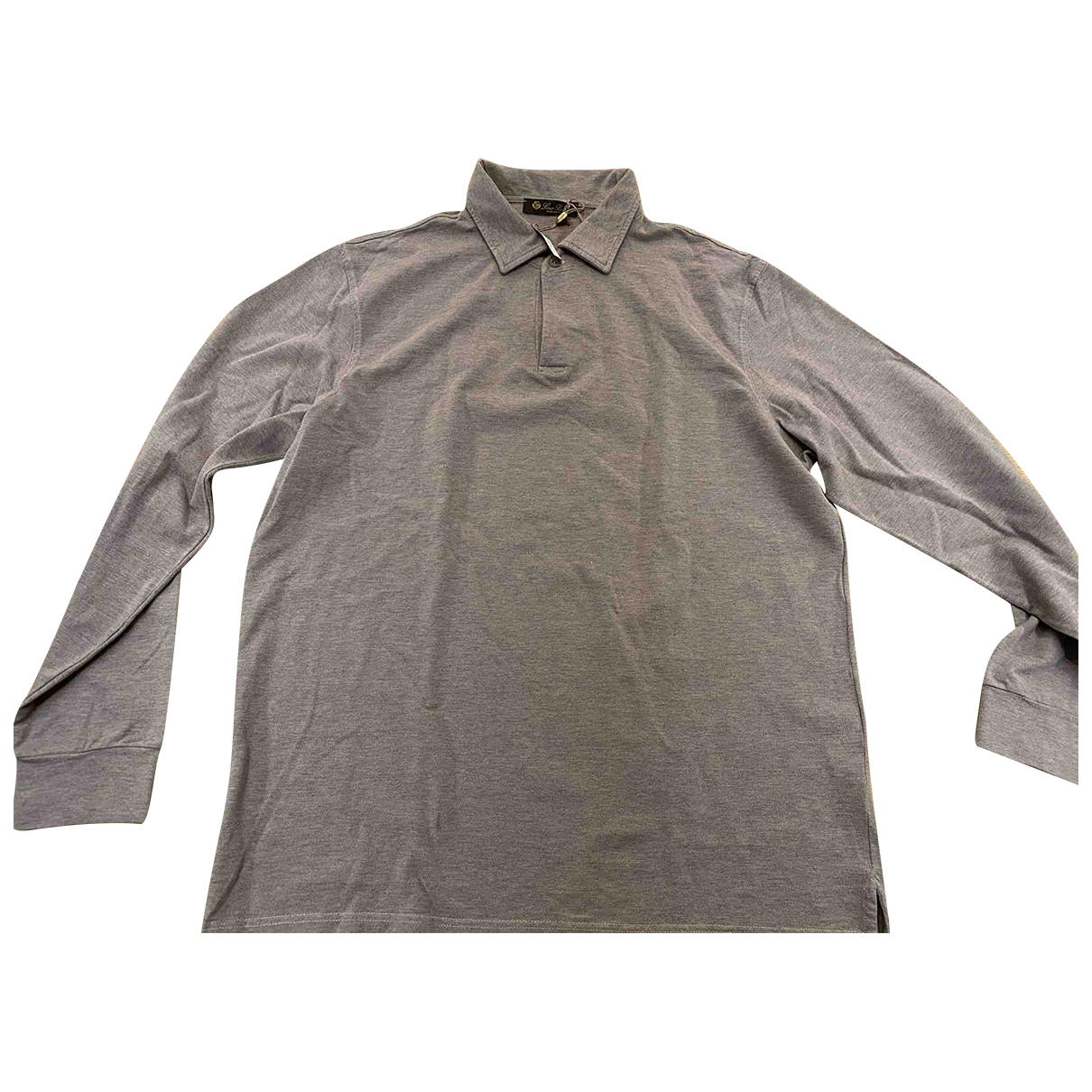 Loro Piana - Polos   pour homme en coton - gris