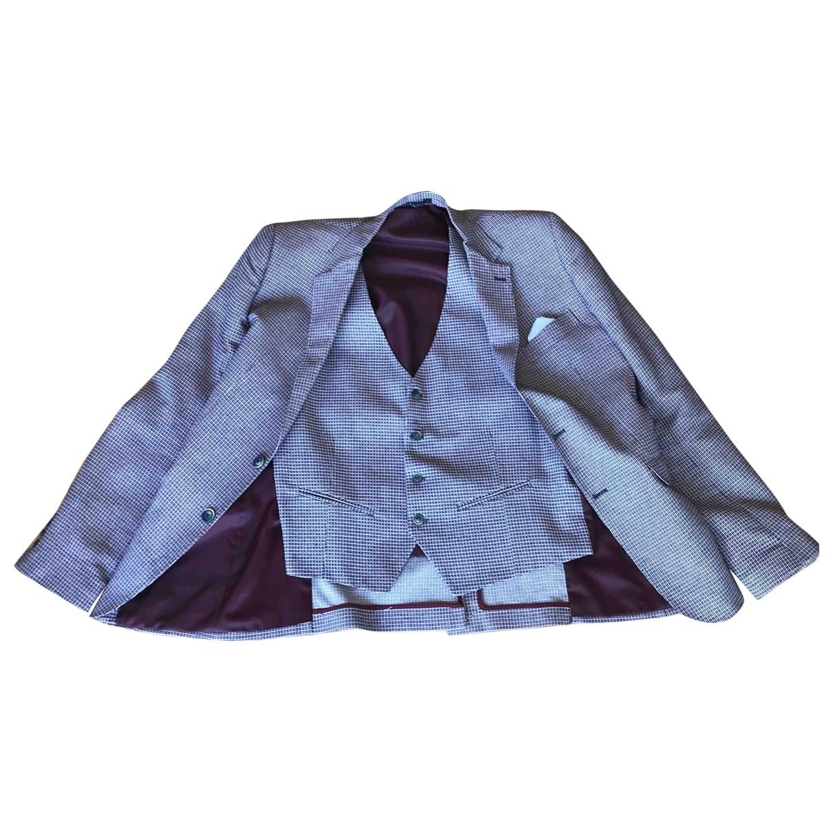Non Signé / Unsigned \N Multicolour Cotton jacket  for Men 54 IT