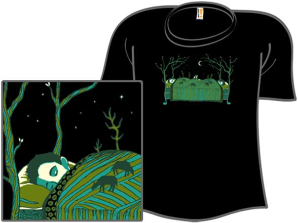 The Sleeping Giants T Shirt