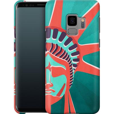 Samsung Galaxy S9 Smartphone Huelle - Statue Of Liberty von Mark Ashkenazi