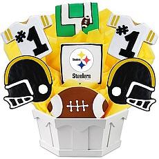 NFL Pittsburg Steelers Cookie Bouquet