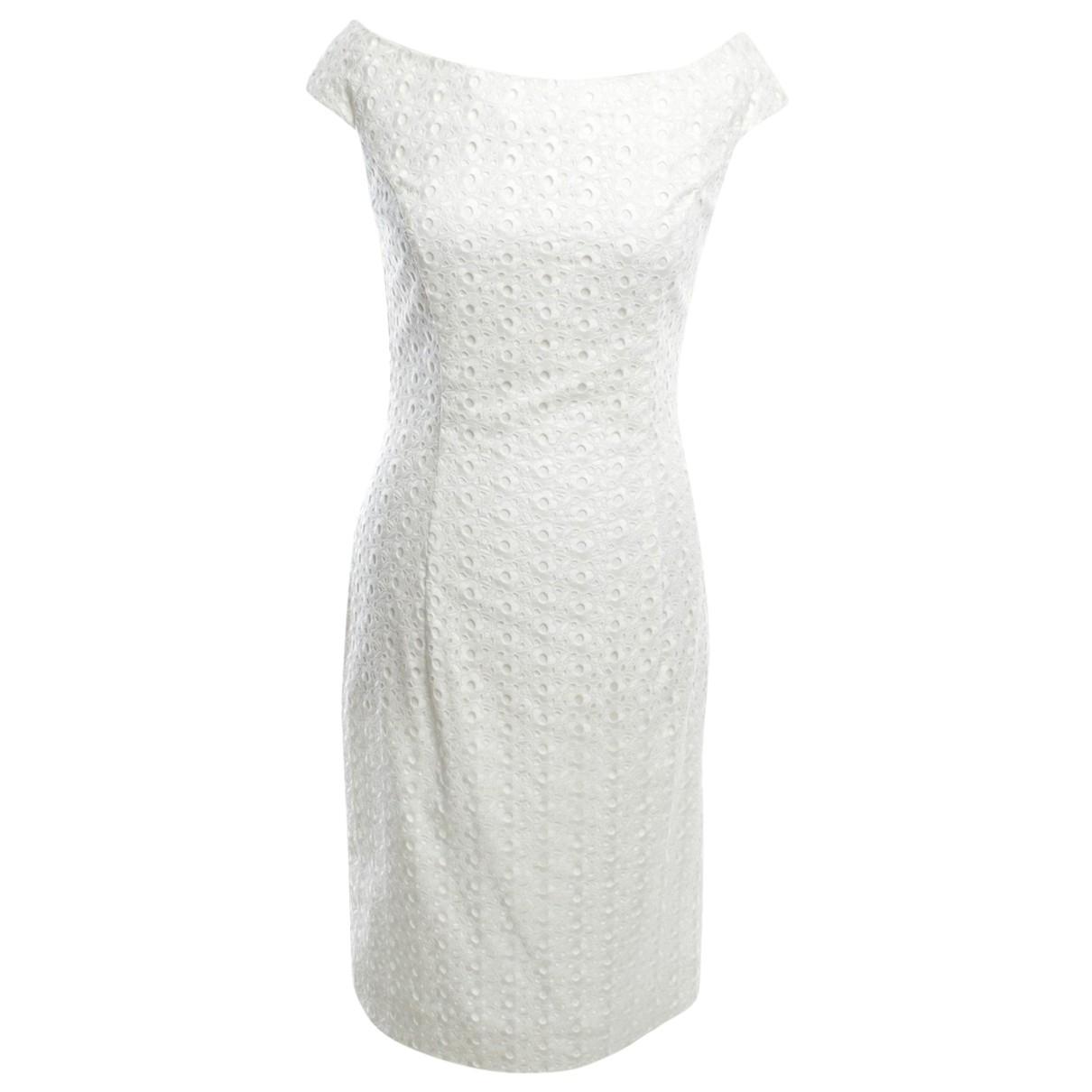 Dior \N Kleid in  Weiss Baumwolle