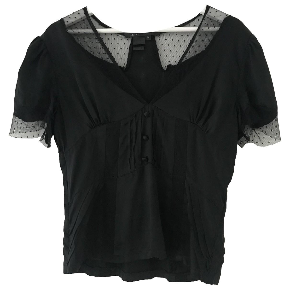 Marc Jacobs N Black Silk  top for Women M International