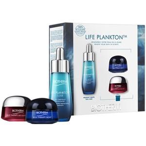 Biotherm Life Plankton Geschenkset Life Plankton Elixir 30 ml + Biotherm Blue Therapy Red Algae Uplift Cream 15ml + Blue Therapy Night Cream 15 ml 1 S