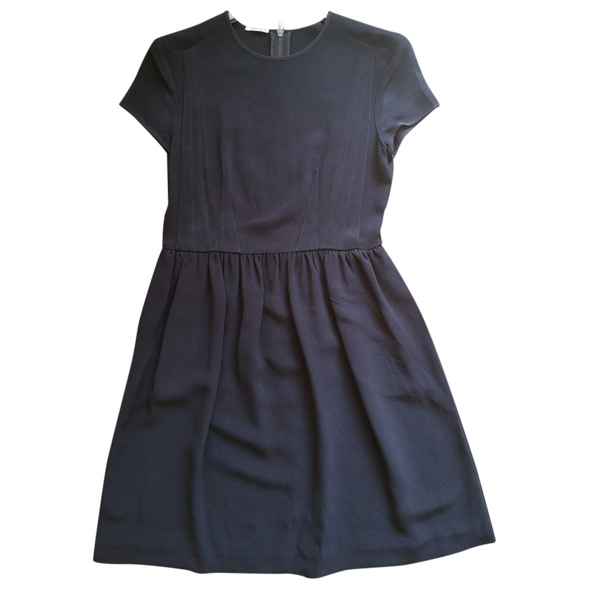 Miu Miu \N Kleid in  Blau Viskose