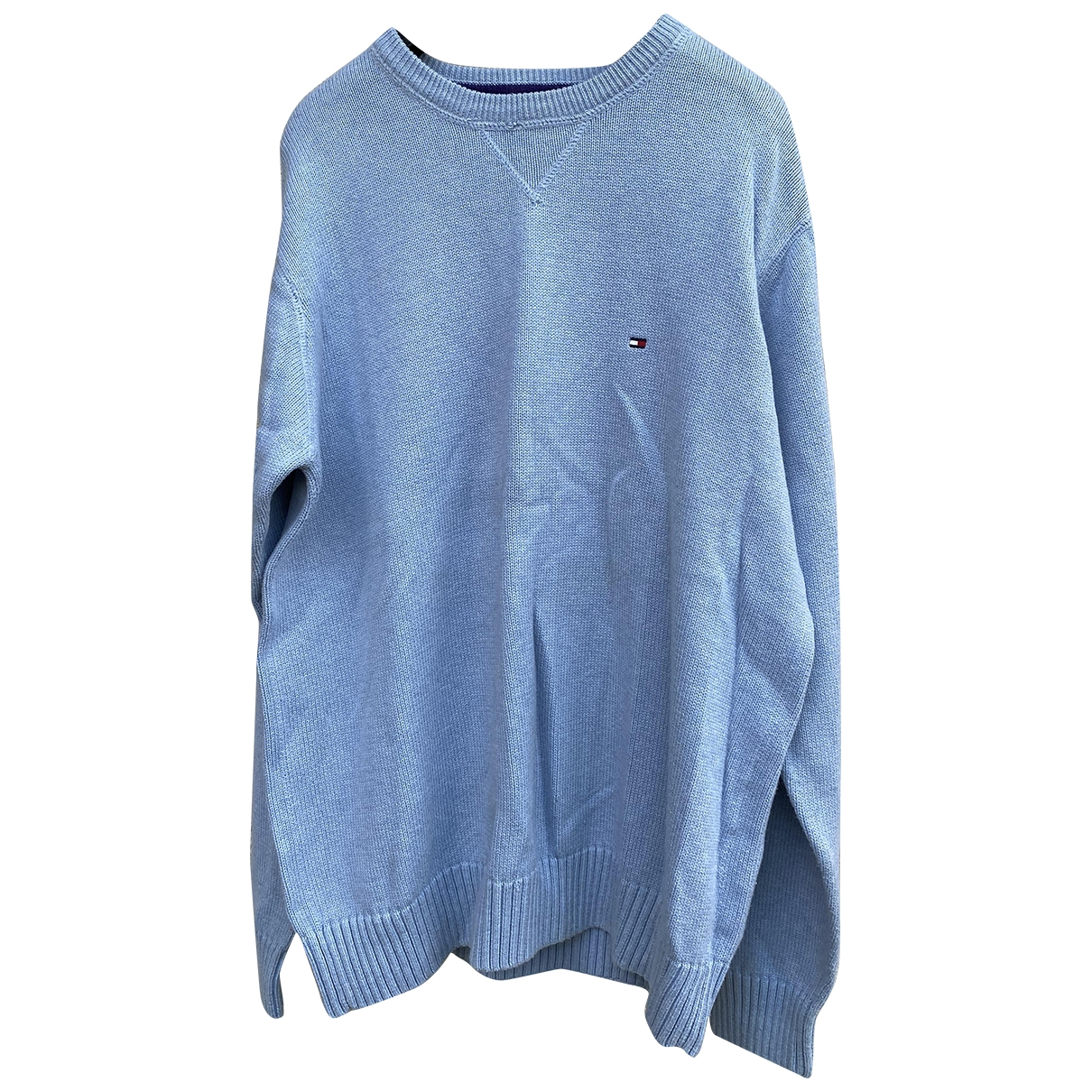 Tommy Hilfiger \N Blue Wool Knitwear & Sweatshirts for Men M International
