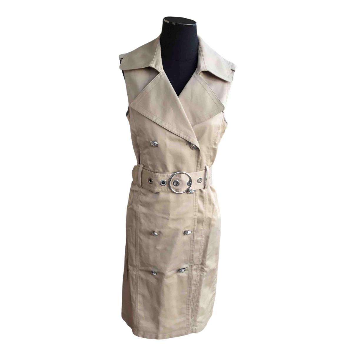 Georges Rech \N Kleid in  Beige Baumwolle