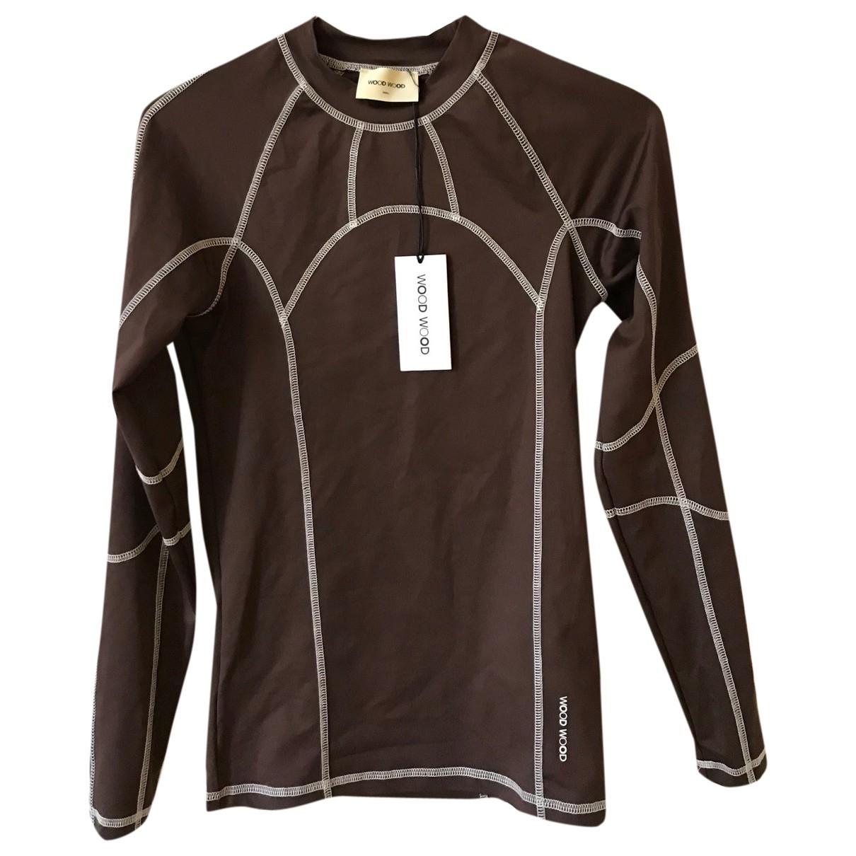 Wood Wood \N Brown Knitwear for Women S International