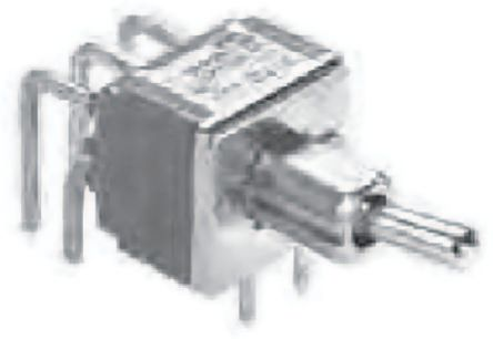 TE Connectivity DPDT Toggle Switch, Latching, PCB