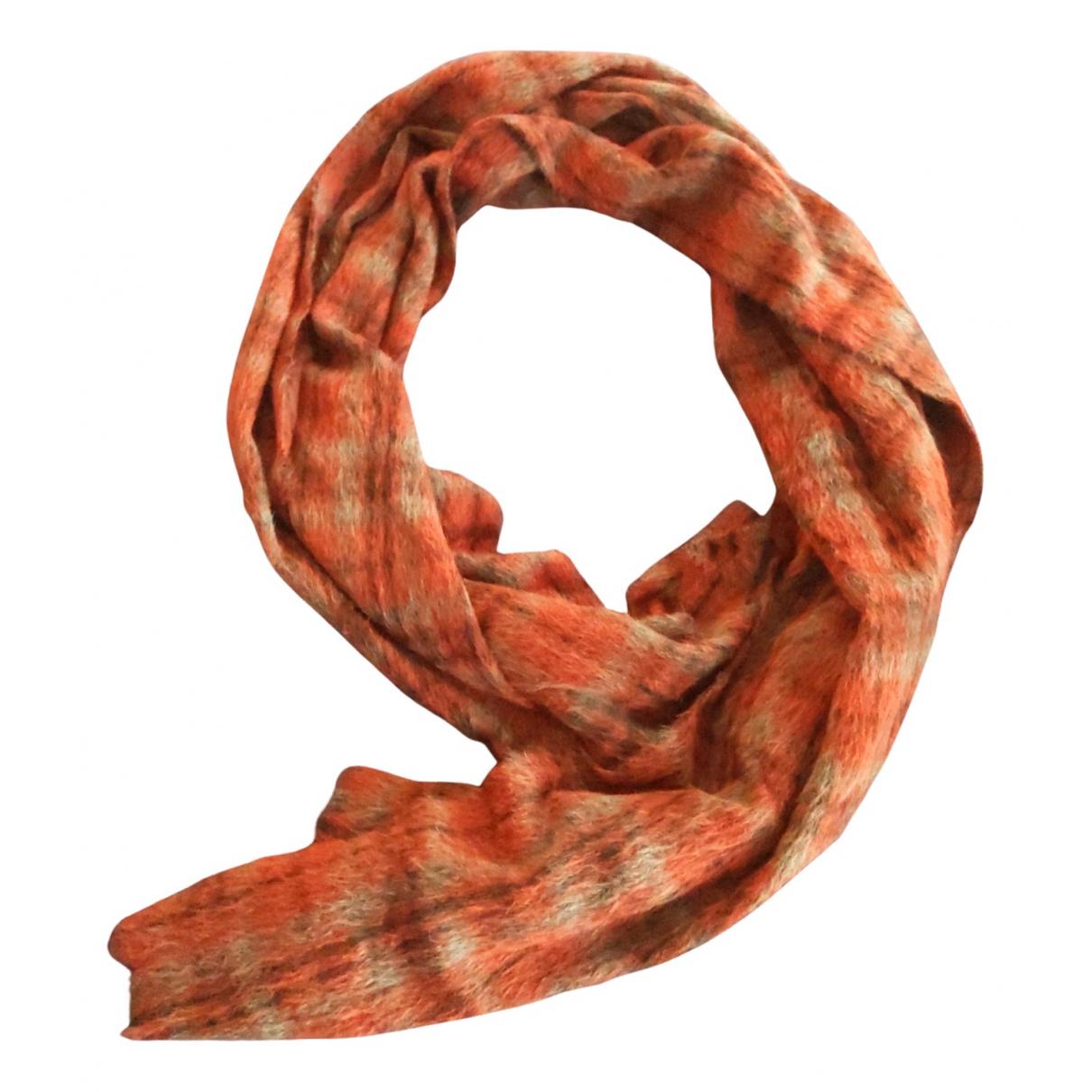 Brunello Cucinelli - Foulard   pour femme en laine - rouge