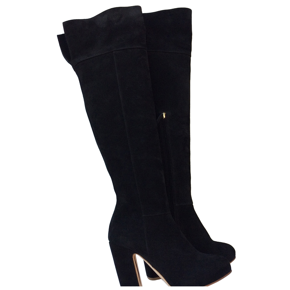 Stuart Weitzman \N Black Suede Boots for Women 39 EU